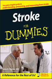 Stroke For Dummies by John R. Marler