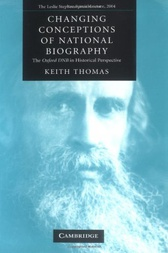 Changing Conceptions of National Biography by Keith Thomas