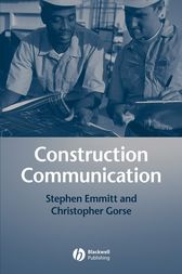 Construction Communication by Stephen Emmitt