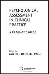Psychological Assessment in Clinical Practice by Michel Hersen