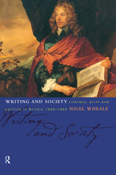 Writing and Society by Nigel Wheale