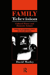 Family Television by David Morley