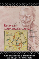 European Democratic Culture by Gerard Duprat