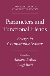 Parameters and Functional Heads by Adriana Belletti