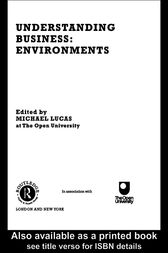 Understanding Business Environments by Michael Lucas