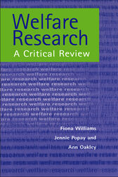 Welfare Research by Fiona William