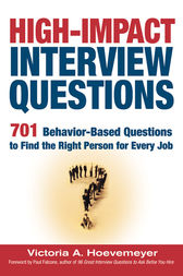 High-Impact Interview Questions by Victoria A. HOEVEMEYER
