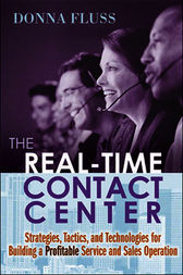 The Real-Time Contact Center by Donna FLUSS