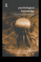 Psychological Knowledge by Martin Kusch