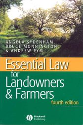 Essential Law for Landowners and Farmers by A. Sydenham