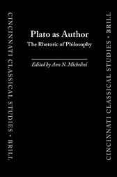 Plato as author by A.N. Michelini