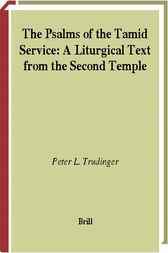 The Psalms of the Tamid service by P.L. Trudinger
