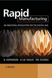 Rapid Manufacturing by Neil Hopkinson