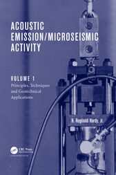 Acoustic Emission/Microseismic Activity by Jr. Hardy