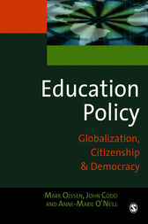 Education Policy by Mark Olssen