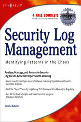 Security Log Management by Jacob Babbin