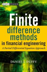 Finite Difference Methods in Financial Engineering by Daniel J. Duffy