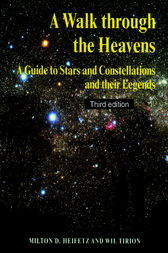 A Walk through the Heavens by Milton D. Heifetz