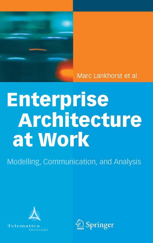 Download Ebook Enterprise Architecture at Work by Marc Lankhorst Pdf