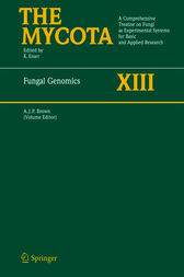 Fungal Genomics by Alistair J.P. Brown