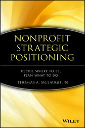 Nonprofit Strategic Positioning by Thomas A. McLaughlin