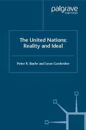 The United Nations by Peter R. Baehr