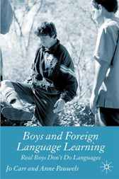 Boys and Foreign Language Learning by Jo Carr