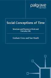 Social Conceptions of Time by Graham Crow