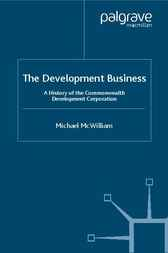 The Development Business by Michael McWilliam