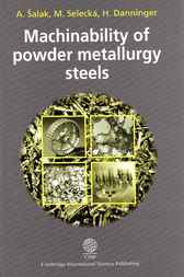 Machinability of Powder Metallurgy Steels by A. Salsk