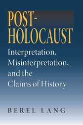 Post-Holocaust by Berel Lang