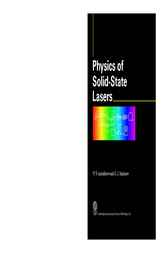 Physics of Solid State Lasers by V.V. Antsiferov; G.I. Smirnov