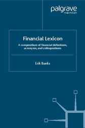 Financial Lexicon by Erik Banks