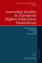 Assessing Quality in European Higher Education Institutions by Chiara Orsingher