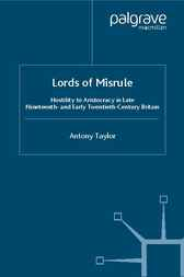 Lords of Misrule by Antony Taylor