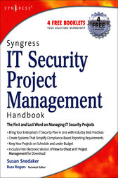 Syngress IT Security Project Management Handbook by Susan Snedaker