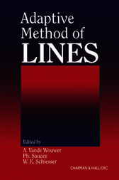 Adaptive Method of Lines by A Vande Wouwer