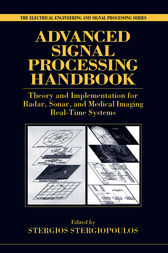 Advanced Signal Processing Handbook by Stergios Stergiopoulos