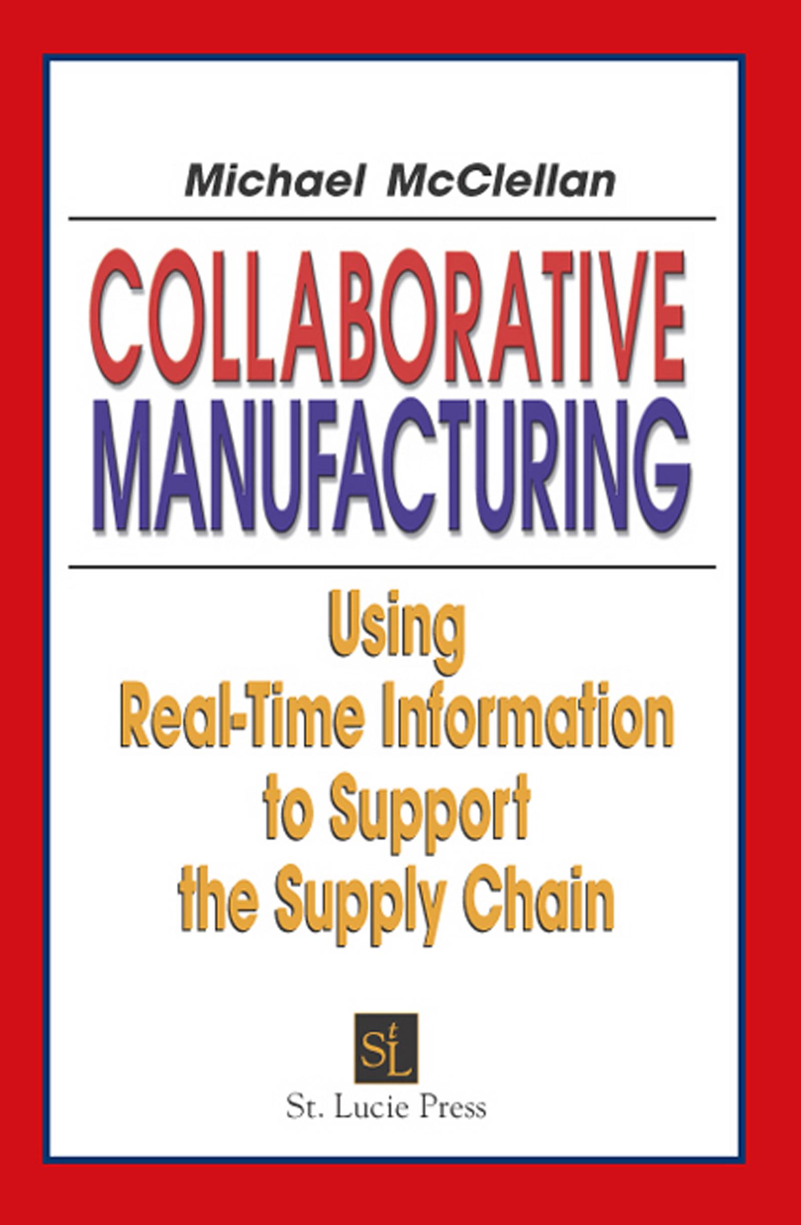 Download Ebook Collaborative Manufacturing by Michael McClellan Pdf