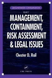 Groundwater Contamination, Volume II by Chester D. Rail
