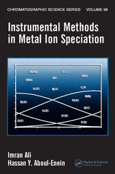 Instrumental Methods in Metal Ion Speciation by Imran Ali