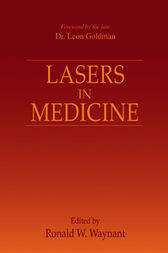 Lasers in Medicine by Ronald W. Waynant