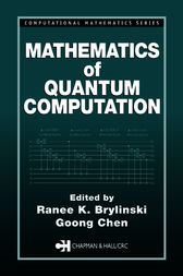 Mathematics of Quantum Computation by Ranee K. Brylinski