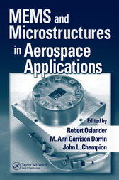 MEMS and Microstructures in Aerospace Applications by Robert Osiander