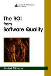 The ROI from Software Quality by Khaled El Emam