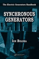 Synchronous Generators by Ion Boldea