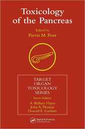 Toxicology of the Pancreas by Parviz M. Pour