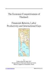 The Economic Competitiveness of Thailand by Philip M. Parker