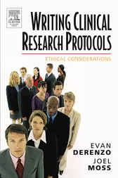 Writing Clinical Research Protocols by Evan DeRenzo