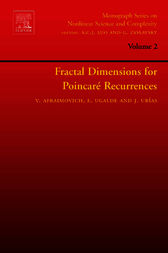 Fractal Dimensions for Poincare Recurrences by Valentin Afraimovich